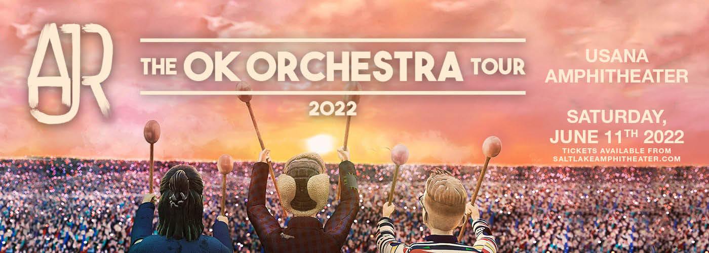 AJR: OK ORCHESTRA Tour at USANA Amphitheater