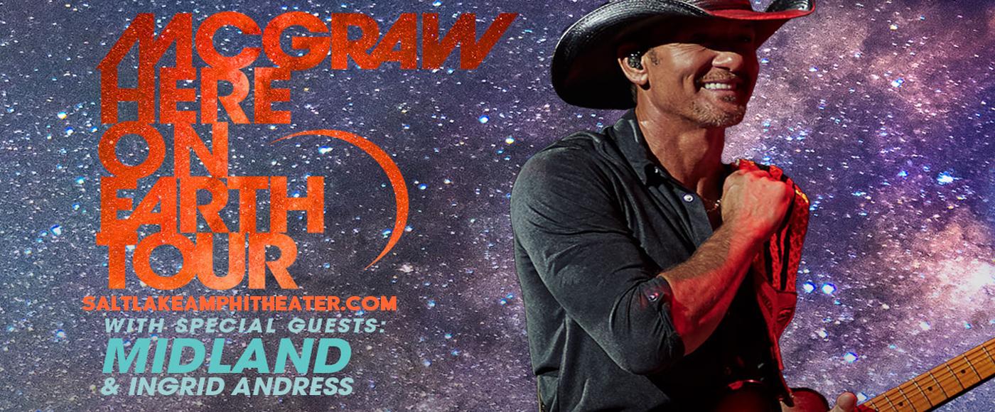 Tim McGraw [CANCELLED] at USANA Amphitheater