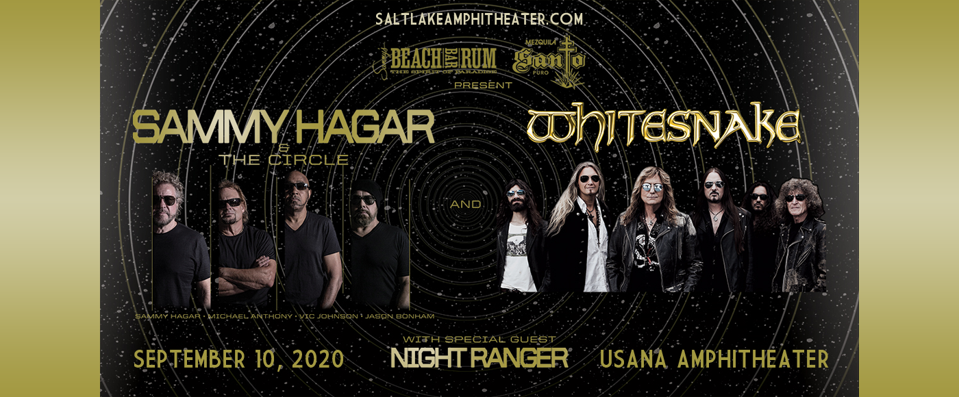 Sammy Hagar and the Circle & Whitesnake [CANCELLED] at USANA Amphitheater
