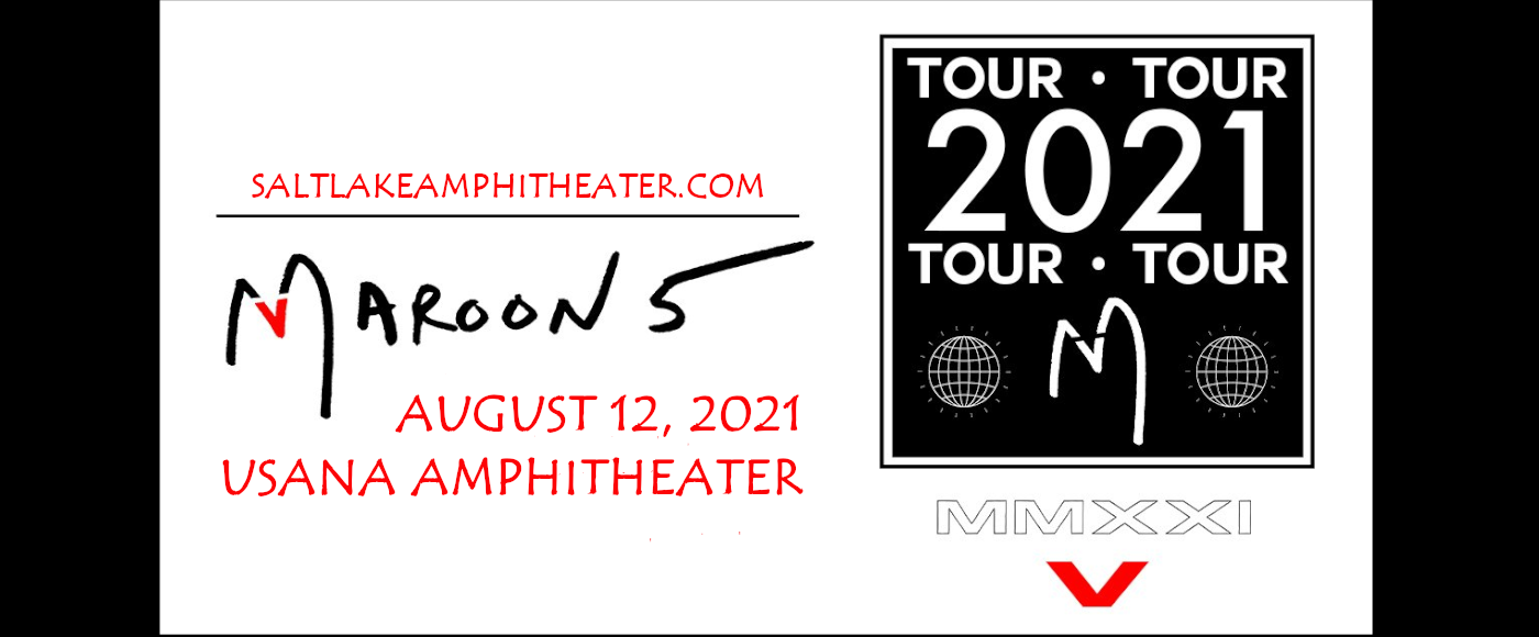 Maroon 5 & Meghan Trainor at USANA Amphitheater