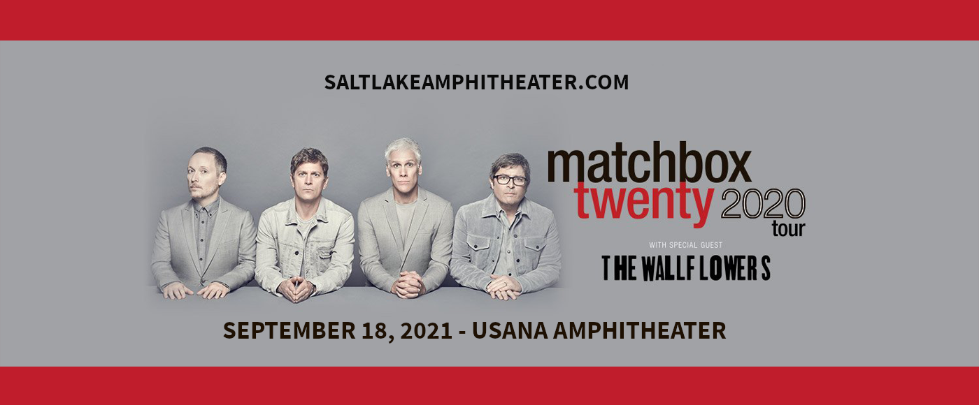 Matchbox Twenty & The Wallflowers at USANA Amphitheater