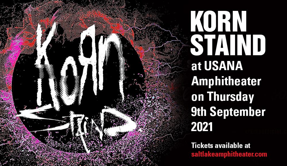 Korn & Staind at USANA Amphitheater