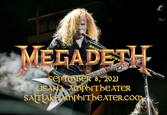 Megadeth & Lamb of God [CANCELLED] at USANA Amphitheater
